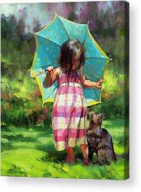 Flower Child Acrylic Prints