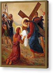 Pastor Acrylic Prints