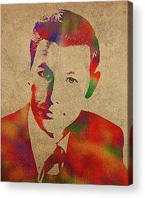 Johnny Carson Acrylic Prints