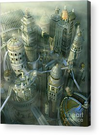 Architect Acrylic Prints