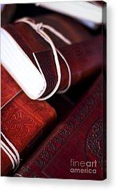Ledger Books Acrylic Prints