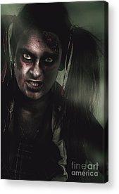 Bloodshot Acrylic Prints