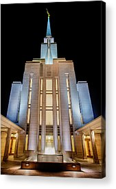 Salt Lake Temple Acrylic Prints