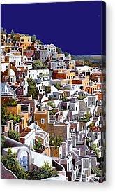 Santorini Acrylic Prints