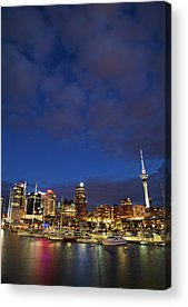 Central Business District Acrylic Prints