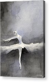 Ballerina Paintings Acrylic Prints