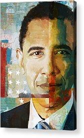 Washington D.c Paintings Acrylic Prints