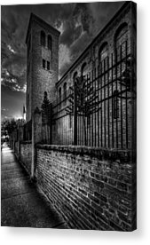Brick Sidewalks Acrylic Prints