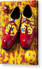 Clown Photographs Acrylic Prints