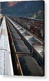 Norfolk Southern Railway Acrylic Prints