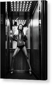 Elevators Acrylic Prints
