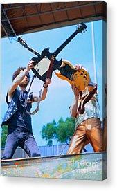 Blue Oyster Cult Acrylic Prints