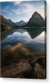 Glacier National Acrylic Prints