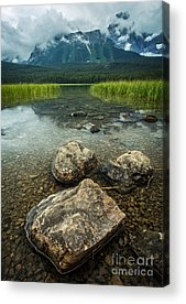 Canmore Acrylic Prints