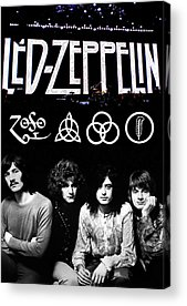 Led Zeppelin Acrylic Prints
