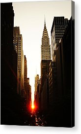 Manhattan Skyline Acrylic Prints