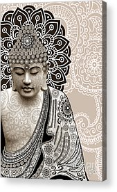 Religious Mixed Media Acrylic Prints