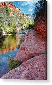 Oak Creek Canyon Acrylic Prints