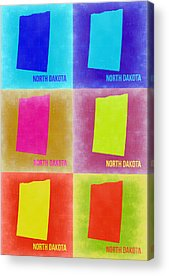 North Dakota Acrylic Prints