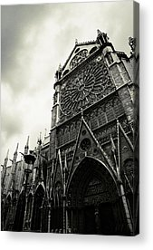 Notre Dame Acrylic Prints