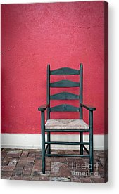 Ladder Back Chairs Photographs Acrylic Prints