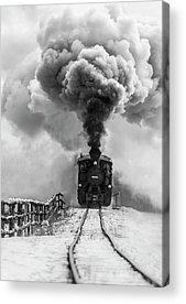 Steam Engine Acrylic Prints