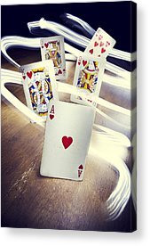 Poker Acrylic Prints