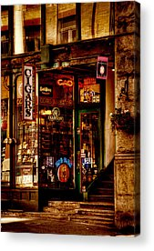 Seattle Tourist Attractions Acrylic Prints