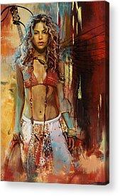 Shakira Acrylic Prints