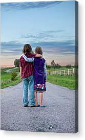 Siblings Acrylic Prints