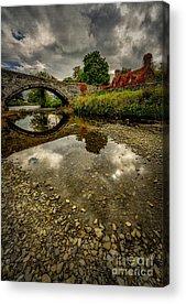 Llanrwst Digital Art Acrylic Prints