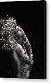 Destruction Photographs Acrylic Prints