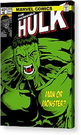 The Hulk Acrylic Prints