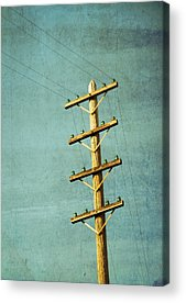 Telephone Poles Acrylic Prints
