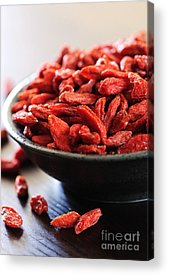 Dried Fruits Acrylic Prints