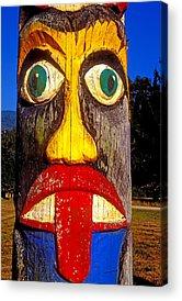 Totem Pole Acrylic Prints
