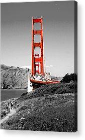 Golden Gate Bridge Acrylic Prints