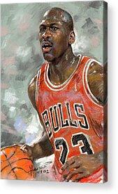 Chicago Bulls Acrylic Prints