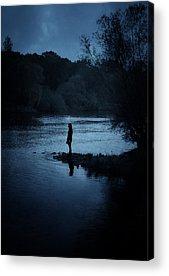 Reflecting Ponds Acrylic Prints