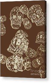 Skeletal Acrylic Prints