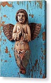 Angel Blues Photographs Acrylic Prints