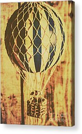 Ballooning Acrylic Prints