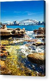 Sydney Harbour Bridge Acrylic Prints