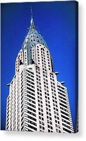 Chrysler Building Acrylic Prints