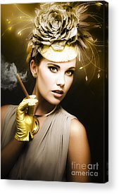 Leading Actress Acrylic Prints