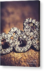 Diamond Earrings Acrylic Prints