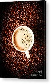 Coffee Drinking Acrylic Prints