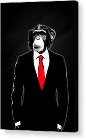 Ape Acrylic Prints