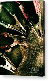 Steel Cable Acrylic Prints