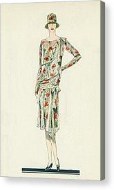 Fashion Designer Art Acrylic Prints